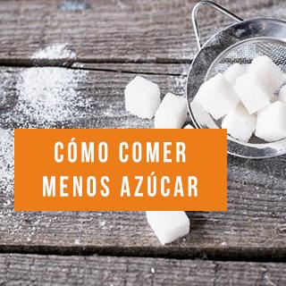 azucar comer menos