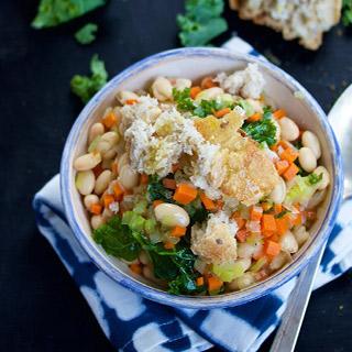 Sopa de Alubias y Verduras