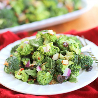 Brócoli con Vinagreta Balsámica