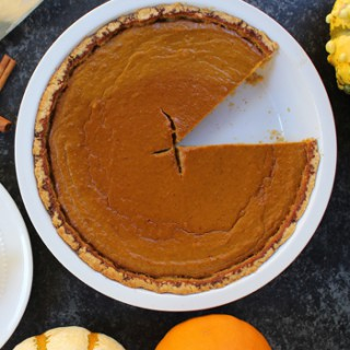 PUMPKIN PIE pay de calabaza