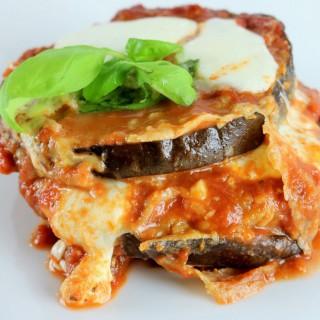 lasagna de berenjena o calabaza