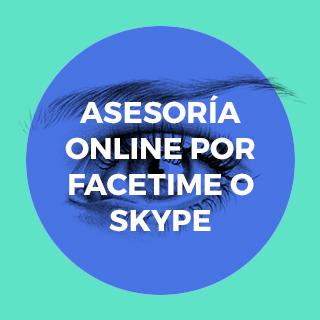 asesoria online por facetime p skype o whatsapp video