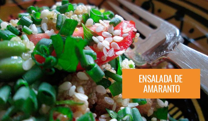 Ensalada de Amaranto